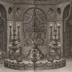 Le Pautre, Festin donné dans le petit Parc de Versailles, in Félibien, Relation de la fête de Versailles du 18e jillet 1668 (1669)