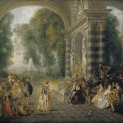 Watteau, Les Plaisirs du bal