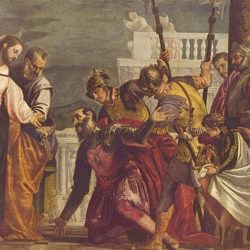 Paolo Veronese, Christ and the Centurion. Oil on canvas, Kansas City Museum